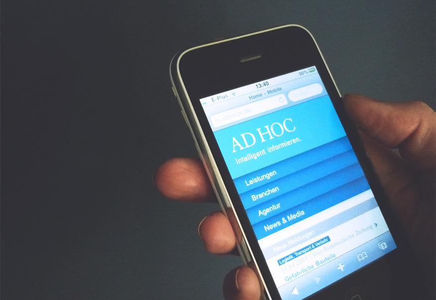 AD HOC mobile