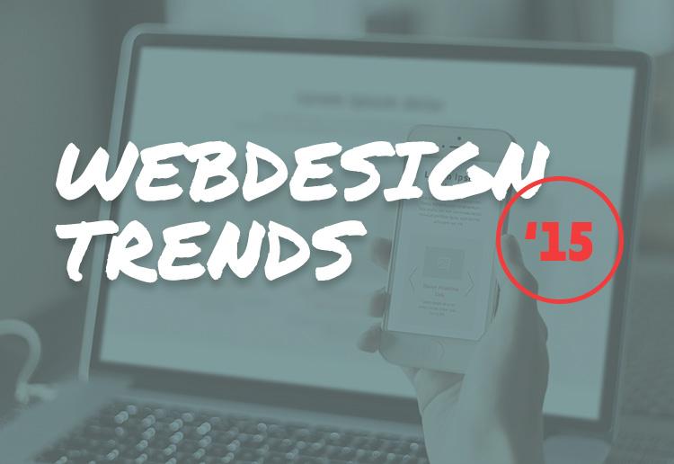 Webdesign-Trends 2015