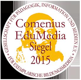 Comenius-EduMedia-Siegel 2015